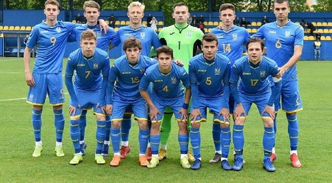 Сборная Украины U-18 уверенно переиграла Чехию в матче Кубка Словакии