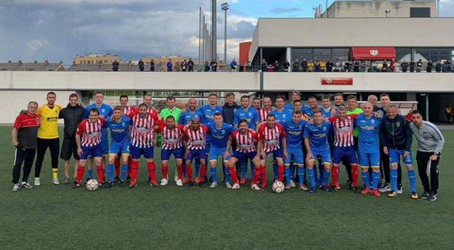 Збірна ветеранів України перемогла на турнірі в Мадриді
