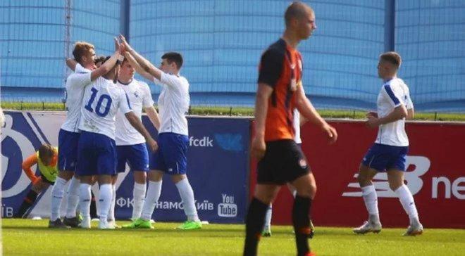 Шахтер U-21 и Динамо U-21 сыграли вничью