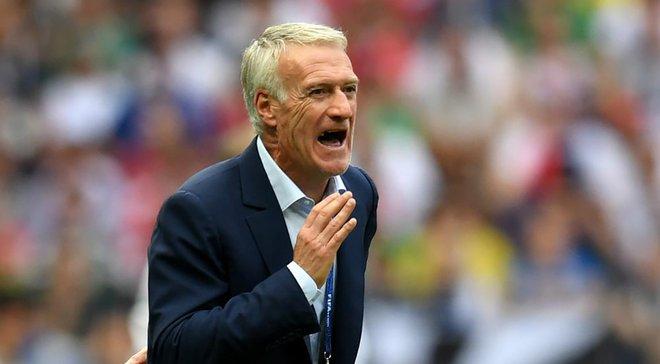 Дешам огласил заявку сборной Франции на матчи против Турции и Андорры