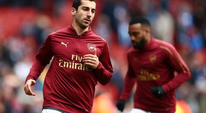 Гравці Арсенала підтримали Мхітаряна, який не зіграє у фіналі Ліги Європи через політичні причини