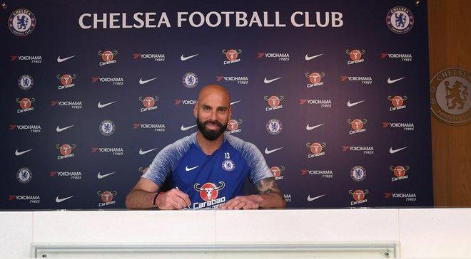 Челси продлил контракт с 37-летним Кабальеро