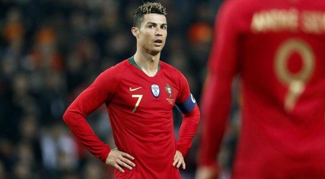 """Португалія оголосила заявку на """"фінал чотирьох"""" Ліги націй – Роналду в списку"""