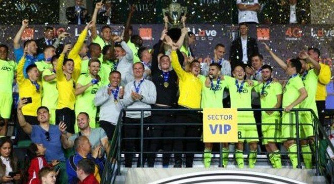 Блізніченко виграв Кубок Молдови з Шерифом