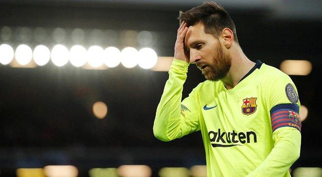 Месси впервые прокомментировал позорное поражение Барселоны от Ливерпуля в полуфинале Лиги чемпионов