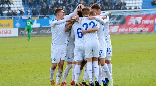 Динамо U-21 – чемпион Украины 2018/19