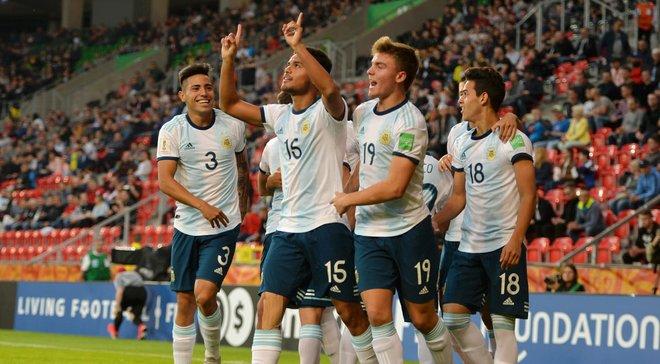 ЧМ-2019 U-20: Аргентина разгромила ЮАР, Франция в большинстве победила Саудовскую Аравию