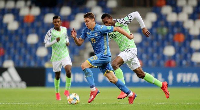 Нигерия U-20 – Украина U-20 – 1:1 – видео голов и обзор матча