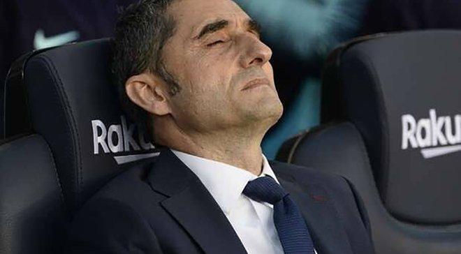 Бартомеу: Поразка Барселони – не провина Вальверде