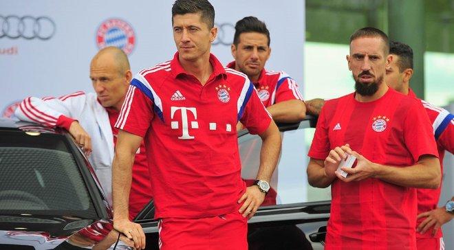 Левандовски посвятил победу Баварии в Кубке Германии Рибери, Роббену и Рафинье