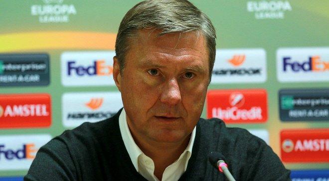 Хацкевич: Динамо собі давно не дозволяло грати у два форварди