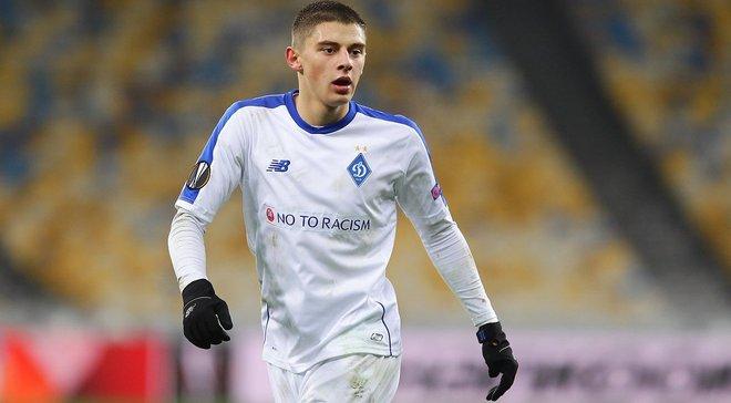 Хацкевич: Миколенко из сборной Украины U-20 отправил Петраков