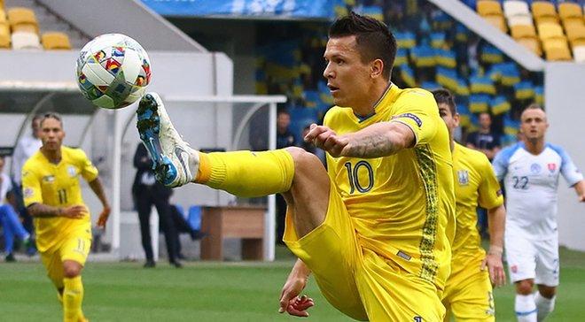 Коноплянка: Замечательно, что есть возможность получить игровую практику в сборной Украины