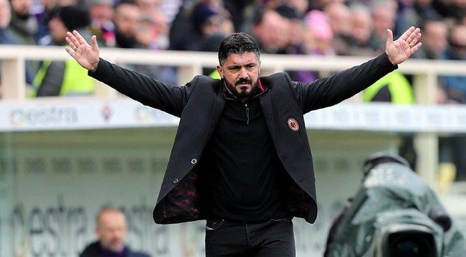 Гаттузо подал в отставку с поста главного тренера Милана и отказался от зарплаты за два года контракта