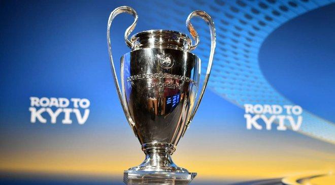 В Одессе неизвестный украл копию Кубка Лиги чемпионов