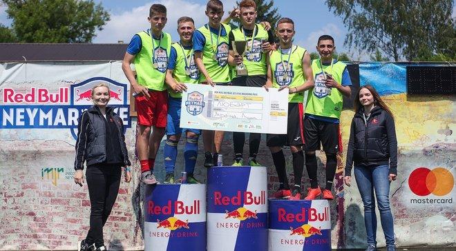 В Луцке и Ивано-Франковске определили финалистов чемпионата Red Bull Neymar Jr's Five