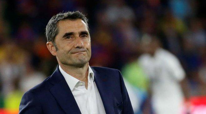 Барселона не подтвердила информацию об отставке Вальверде