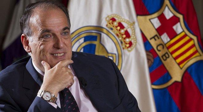 Тебас – о массовых арестах в Испании из-за договорных матчей: Чувствую боль, ведь это затрагивает симпатичный мне клуб