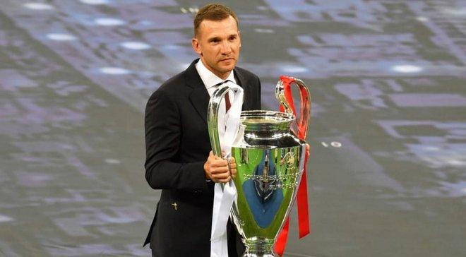 Шевченко вспомнил, как 16 лет назад выиграл дуэль у Буффона и принес Милану победу в Лиге чемпионов