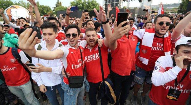 """""""Арсенал любить тебе більше, ніж тобі здається"""", – фанати """"канонірів"""" заспівали для Мхітаряна перед фіналом Ліги Європи"""