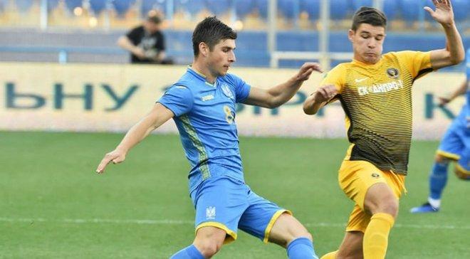 Збірна України обіграла СК Дніпро-1 у контрольному матчі завдяки дублю Яремчука