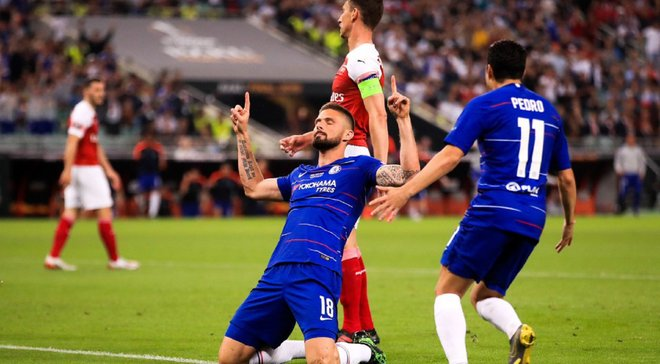 Жиру: Арсенал и Челси изменили мою жизнь, поэтому я не хотел праздновать свой гол в финале Лиги Европы