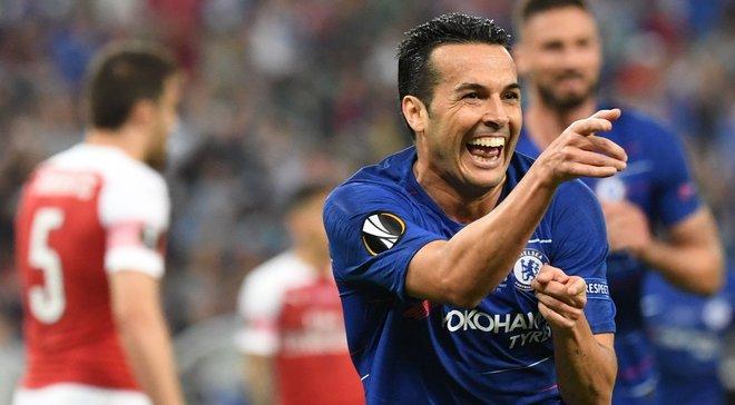 Челси – Арсенал: Педро установил уникальное достижение в финале Лиги Европы