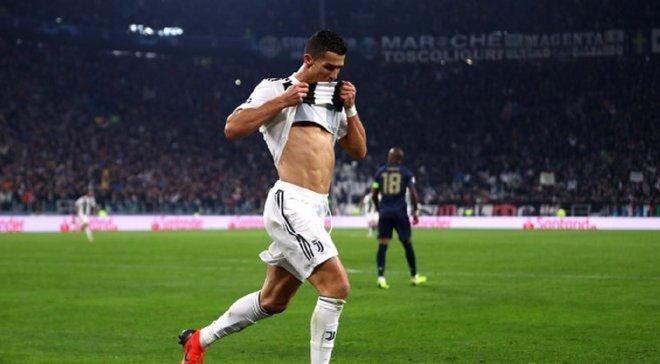 Гол Роналду у ворота Манчестер Юнайтед визнаний найкращим у Лізі чемпіонів 2018/19