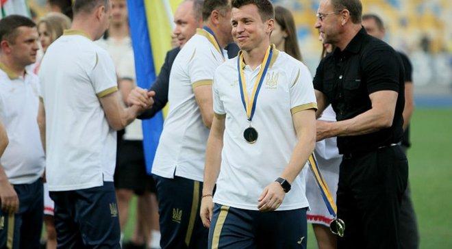 Ротань: Перед грою попросив гравців України U-21, щоб трофей Меморіалу Лобановського залишився в Україні