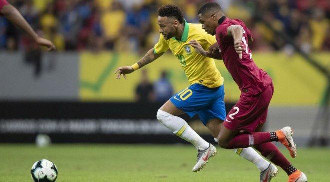 Бразилія перемогла у товариському матчі Катар – 2:0 – відео голів та огляд матчу