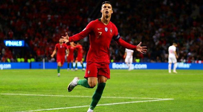 Роналду эффектно принял мяч и обострил атаку – финт дня в Лиге наций