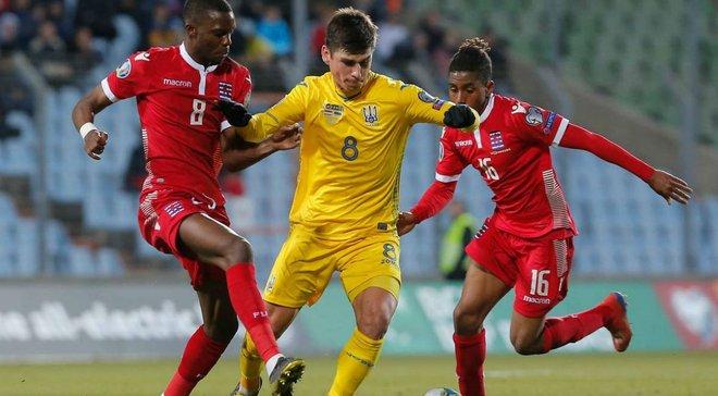 Украина – Люксембург: где смотреть матч отбора к Евро-2020