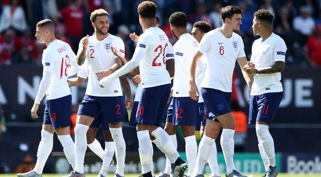 """Швейцарія – Англія: заслужена """"бронза"""" для """"трьох левів"""", перфоманс голкіперів і топ-клас Трента, Стерлінга та Аканджі"""