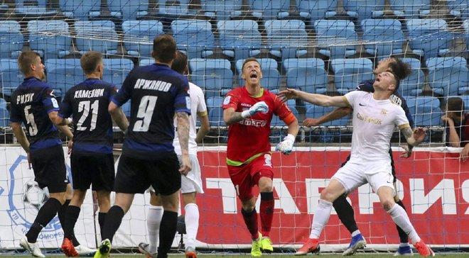 Три пенальти Колоса в видеообзоре матча за место в УПЛ с Черноморцем