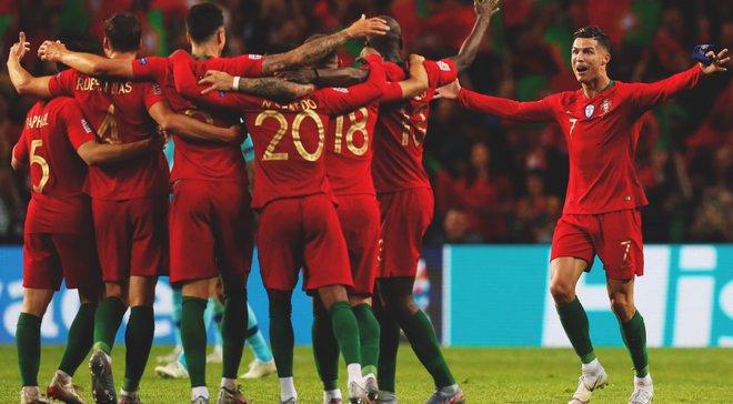 Головні новини футболу 9 червня: Португалія – переможець Ліги націй, збірна України готується до Люксембургу