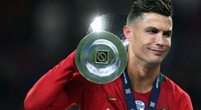 Португалія – Нідерланди: Роналду здобув ювілейний трофей у своїй кар'єрі