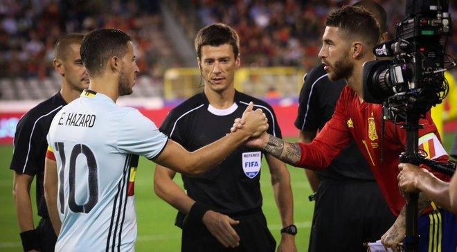 Рамос дав оцінку трансферу Азара в Реал