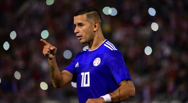 Дерліс Гонсалес відзначився голом за збірну Парагваю
