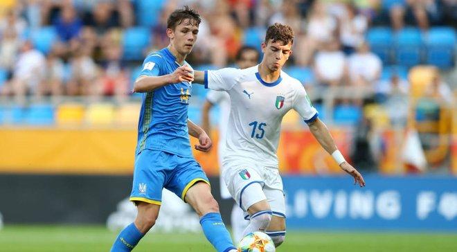 Україна U-20 – Італія U-20 – 1:0 – відео гола та огляд матчу