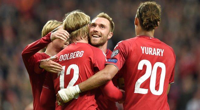 Дания – Грузия – 5:1 – видео голов и обзор матча