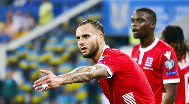 Полузащитник сборной Люксембурга Мартинс: Мне сказали, что офсайда не было, но судья решил иначе