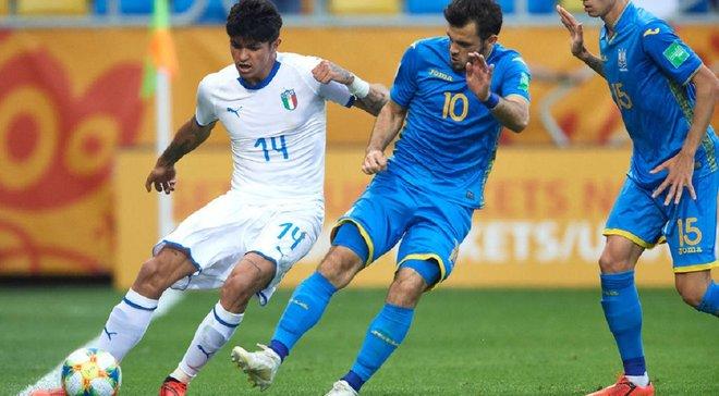 Україна U-20 – Італія U-20: Булеца визнаний найкращим гравцем матчу