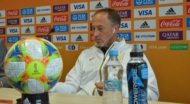 Україна U-20 – Італія U-20: післяматчева прес-конференція Олександра Петракова