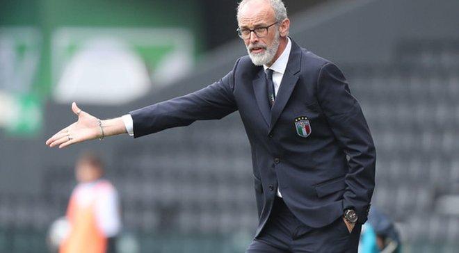 Тренер збірної Італії U-20 прокоментував скасування гола у ворота України