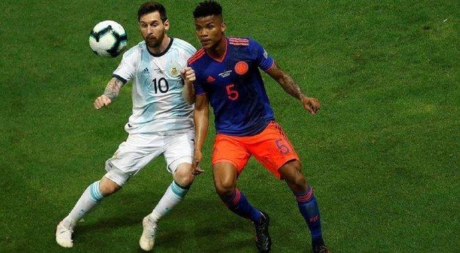 Аргентина – Колумбия – 0:2 – видео голов и обзор матча
