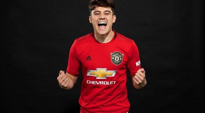 Джеймс – про перехід у Манчестер Юнайтед: Це ідеальне місце для мене