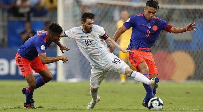 Аргентина неожиданно уступила Колумбии в центральном матче первого тура Копа Америка-2019