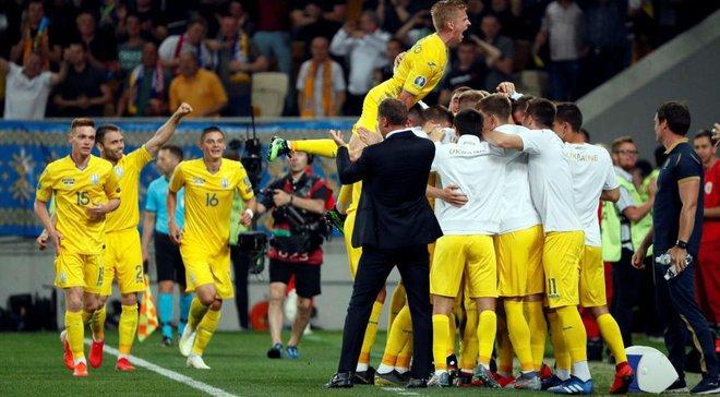 Україна піднялась на 3 позиції у рейтингу ФІФА