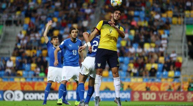 """ЧС-2019 U-20: Еквадор переміг Італію та завоював """"бронзу"""""""