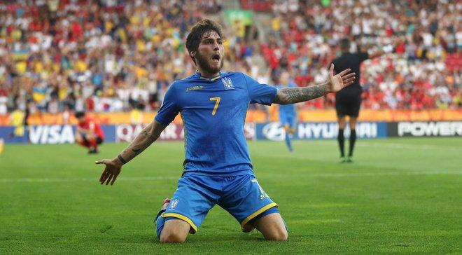 Украина U-20 – Южная Корея U-20: Цитаишвили – лучший игрок матча по данным InStat